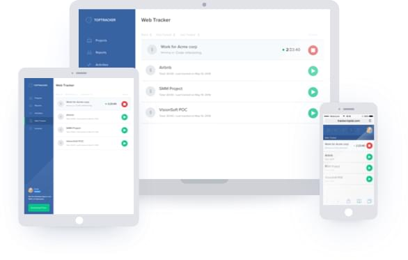 TopTracker - Free Time Tracking, Invoicing & Payments App